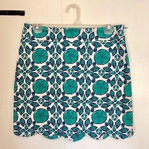 Vineyard Vines Seashell Scalloped skirt